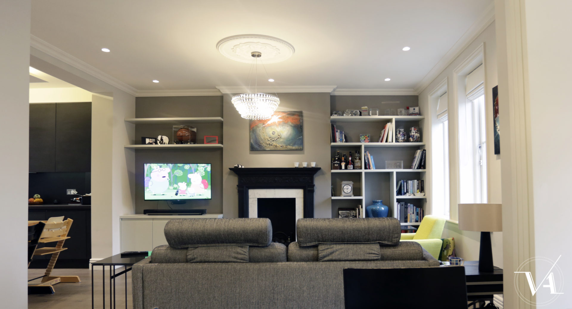 High End Interior Design Part - 43: Carlton Mansions U2013 High End Refursbishment In Maida Vale, London · Interiors